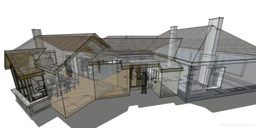 home-extension-for-private-client-architectural-drawings-by-brendan-lennon-5 courtyard extension to rear of home architects design