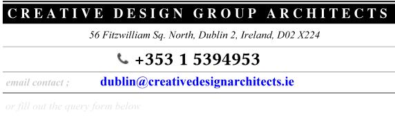 dublin Contact details : architects design