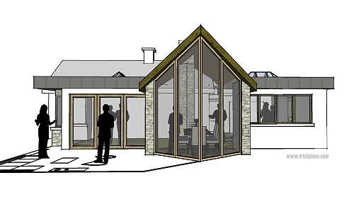 creative design - contemporary architect designed house extension in on ireland house drawings, ireland lifestyle, ireland cottage floor plans,